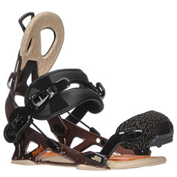 Gnu Mutant Snowboard Bindings, Brown, 256