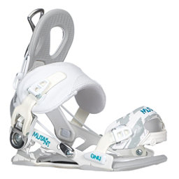Gnu Mutant Snowboard Bindings, White, 256