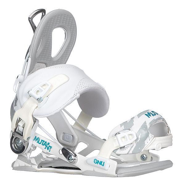 Gnu Mutant Snowboard Bindings, White, 600