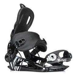 Gnu B-Real Womens Snowboard Bindings, Black, 256