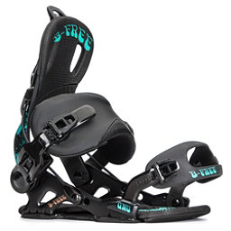 Gnu B-Free Womens Snowboard Bindings, Black, 256