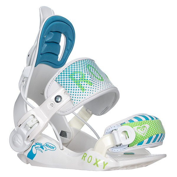 Roxy Rock-It Ready Girls Snowboard Bindings, , 600