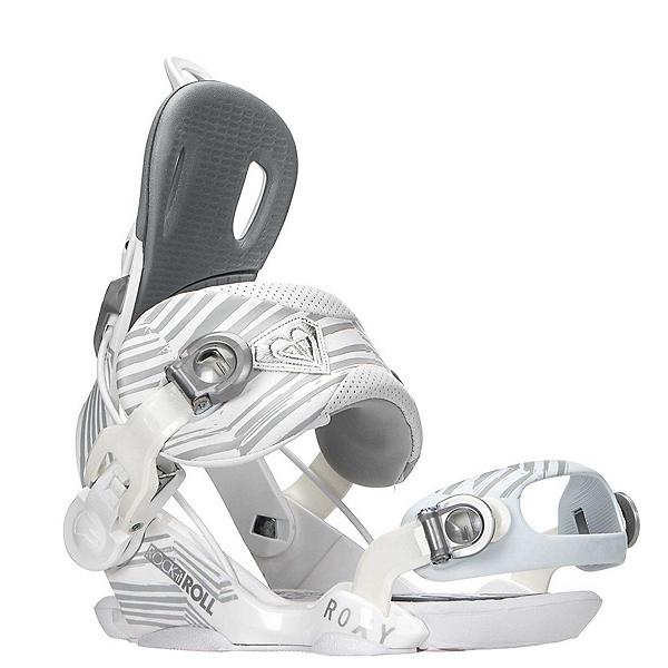 Roxy Rock-It Roll Womens Snowboard Bindings, White, 600