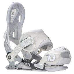 Roxy Rock-It Power Womens Snowboard Bindings, White, 256