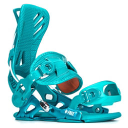 Gnu B-Free Womens Snowboard Bindings, Teal, 256