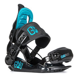 Gnu Gnunior Kids Snowboard Bindings, , 256