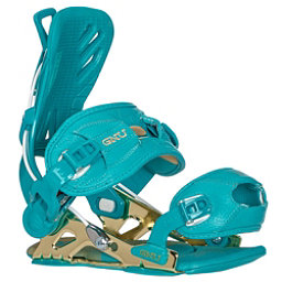 Gnu B-Free Womens Snowboard Bindings, Blue, 256