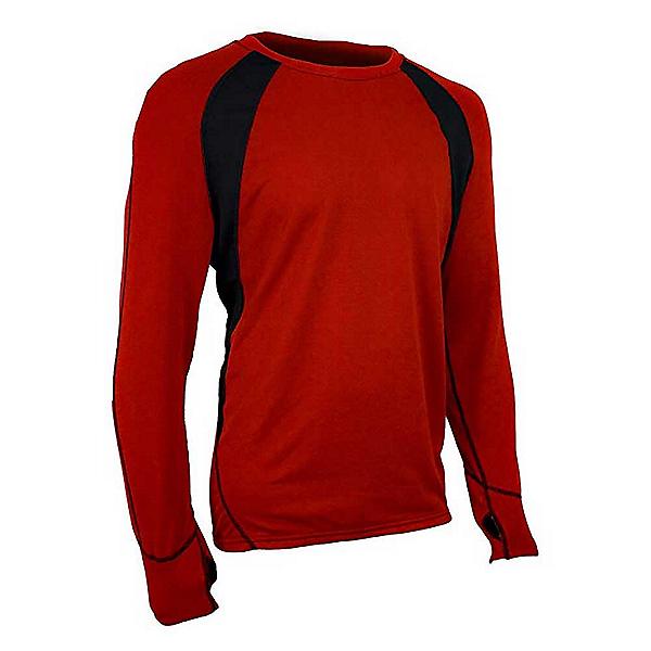 PolarMax Max Ride Sync 2.0 Crew Mens Long Underwear Top, Brick, 600