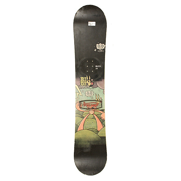 Used Ride Lowride Snowboard Deck Only 135cm, , 600