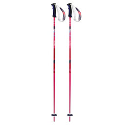 Salomon Shiva Womens Ski Poles, Pink, 256