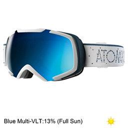 Atomic Revel S ML Goggles, White-Blue, 256