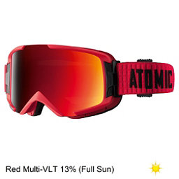 Atomic Savor ML Goggles, Red-Red, 256