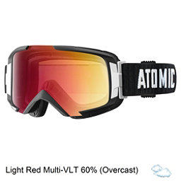 Atomic Savor ML Goggles, Black-Light Red, 256