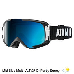 Atomic Savor ML Goggles, Black-Mid Blue, 256