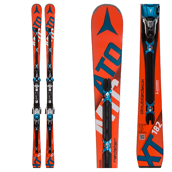 Atomic Redster Doubledeck 3.0 XT Skis with X 12 TL Bindings, , 600