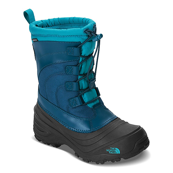 The North Face Alpenglow IV Girls Boots, Egyptian Blue-Blizzard Blue, 600