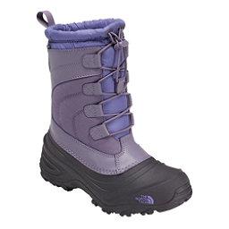 The North Face Alpenglow IV Girls Boots, Purple Sage-Dahlia Purple, 256