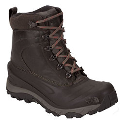 The North Face Chilkat III Luxe Mens Boots, Weimaraner Brown-TNF Red, 256