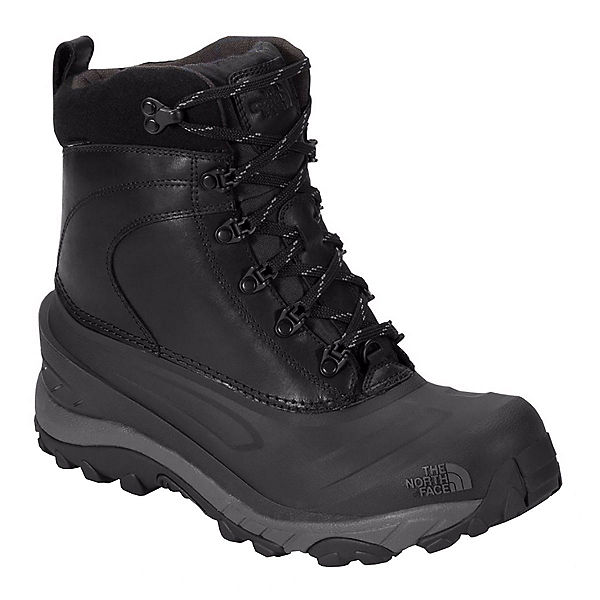 The North Face Chilkat III Luxe Mens Boots (Previous Season), TNF Black-Zinc Grey, 600