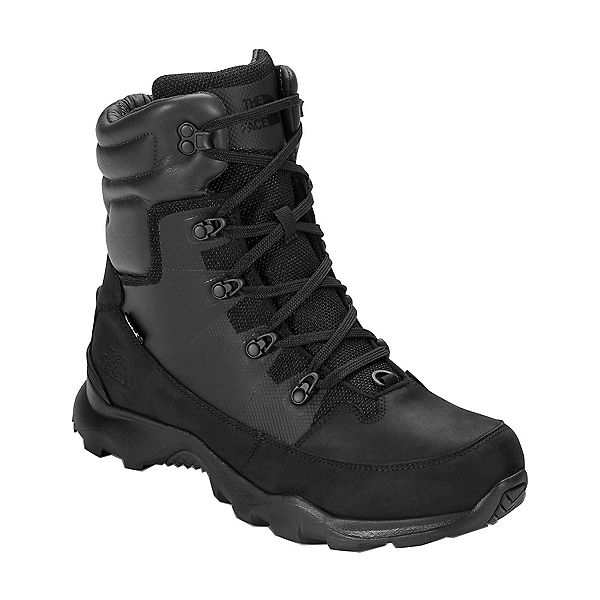 The North Face ThermoBall Lifty Mens Boots, TNF Black-Beluga Grey, 600