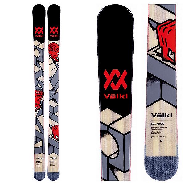 Volkl Revolt 95 Skis 2018, , 600