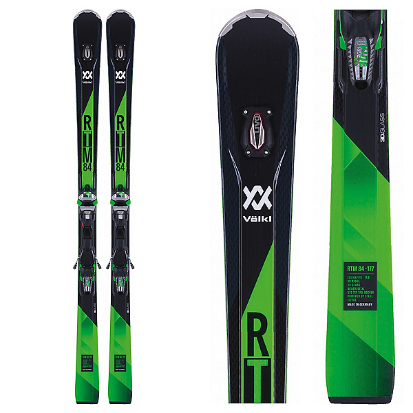 Volkl RTM 84 Skis with IPT WR XL 12 Bindings, , 600