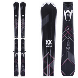 Volkl Flair 73 Womens Skis with vMotion1 10 Bindings 2018, , 256