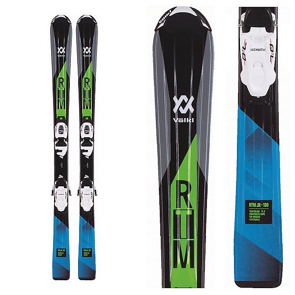 Volkl RTM Jr. Kids Skis with vMotion 4.5 Bindings 2018, , 600