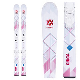 Volkl Chica Jr. Kids Skis with vMotion 4.5 Bindings 2018, , 256