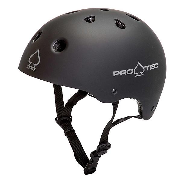 Pro-Tec Classic Mens Skate Helmet 2017, Matte Black, 600
