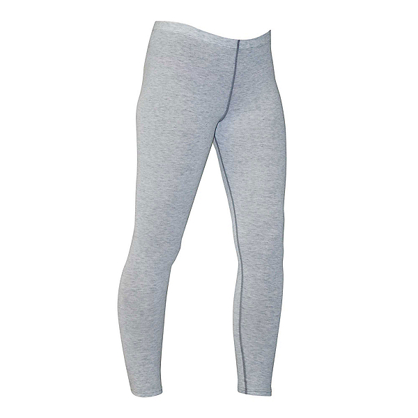 PolarMax Micro H1 Womens Long Underwear Pants, Grey Heather, 600