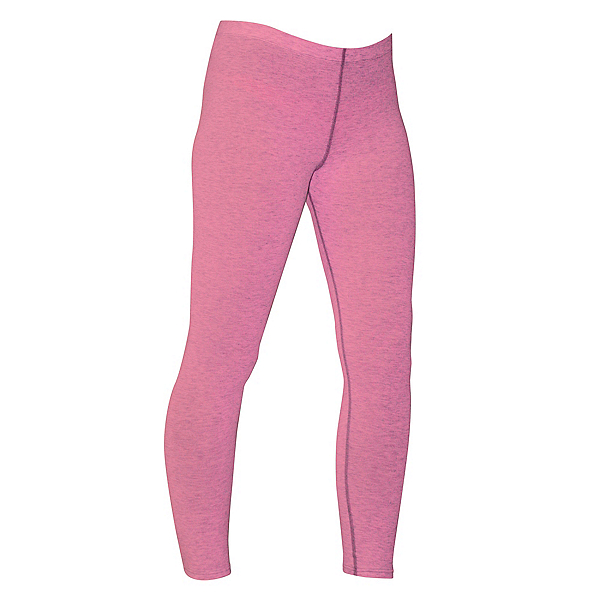 PolarMax Micro H1 Womens Long Underwear Pants, Pink Heather, 600