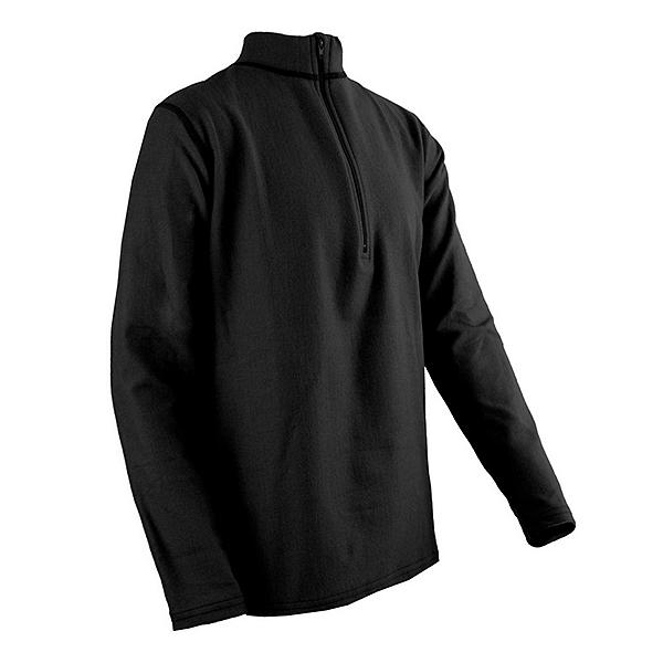 PolarMax Quattro Fleece Zippered Mock Neck Kids Long Underwear Top, , 600