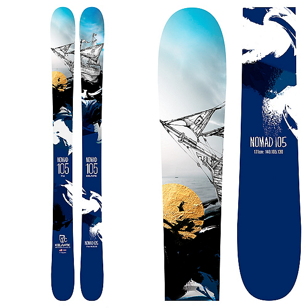 Icelantic Nomad 105 Skis, , 600