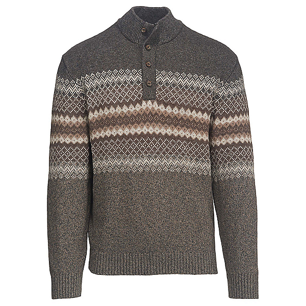 Woolrich Deep Channel Henley Mens Sweater, , 600