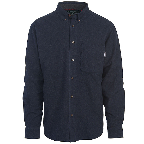 Woolrich Sportsman Chamois Mens Shirt, Dark Navy Heather, 600