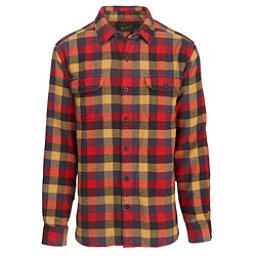 Woolrich Oxbow Bend Flannel Shirt, Red Multi, 256