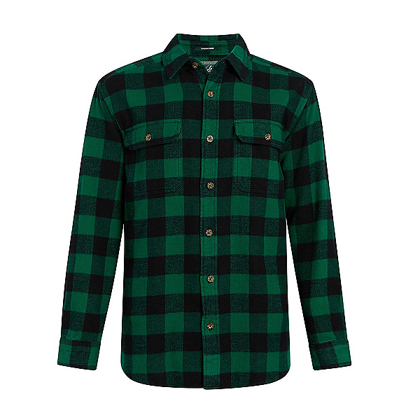 Woolrich Oxbow Bend Flannel Shirt, Forest, 600