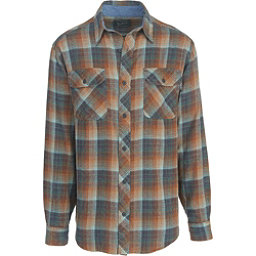 Woolrich Miners Wash Flannel Shirt, Mallard Green, 256