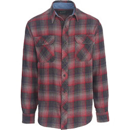 Woolrich Miners Wash Flannel Shirt, Steel Gray, 256