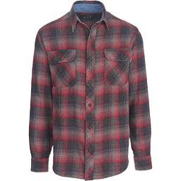 Woolrich Miners Wash Flannel Shirt, Steel Gray, 256