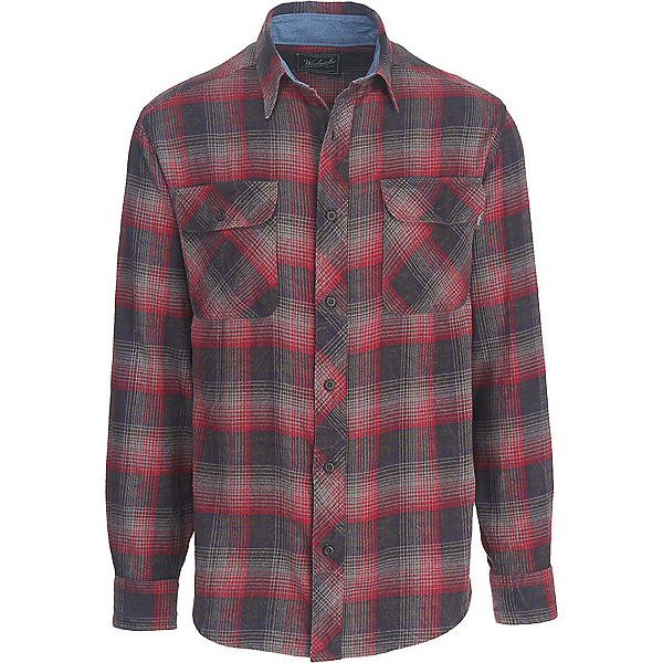 Woolrich Miners Wash Flannel Shirt, Steel Gray, 600