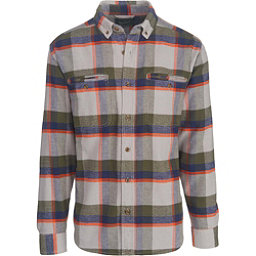 Woolrich Oxbow Pass Eco Rich Flannel Shirt, Geyser Herringbone, 256