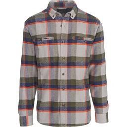 Woolrich Oxbow Pass Eco Rich Flannel Shirt, Geyser Herringbone, 256