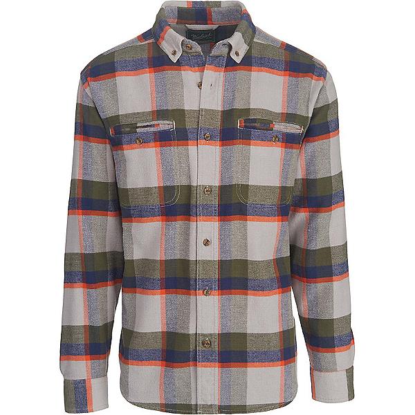 Woolrich Oxbow Pass Eco Rich Flannel Shirt, Geyser Herringbone, 600