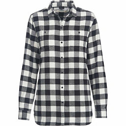 Woolrich Pemberton Boyfriend Flannel Shirt, Ivory Check, 256