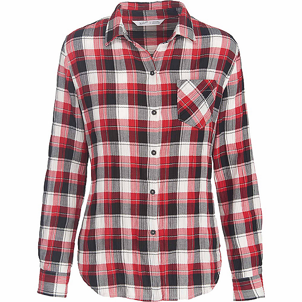 Woolrich Kanan Eco Rich Flannel Shirt, Old Red, 600