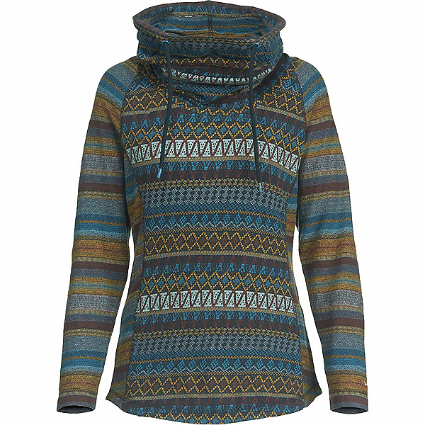 Woolrich Mile Run Womens Hooded Cowl, , 600