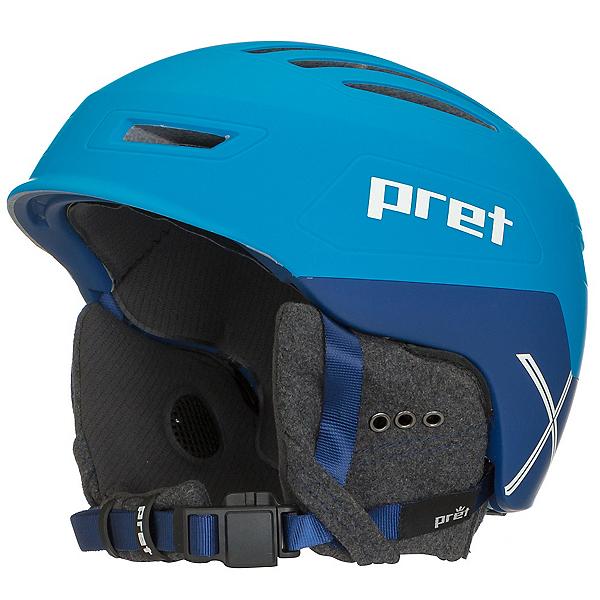 Pret Cirque X Helmet 2018, Rubber Signature Blue, 600