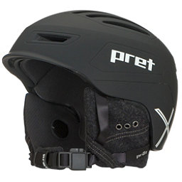Pret Cirque X Helmet 2018, Rubber Team Black, 256